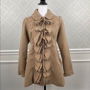 Express Ladies Beige Coat